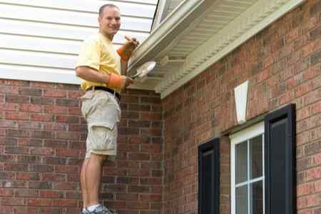 keeping up with gutter maintenance